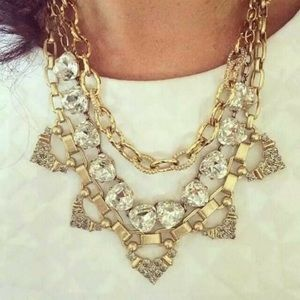 Stella and dot Christina link chain necklace
